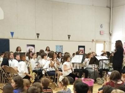 Picture of the band concert